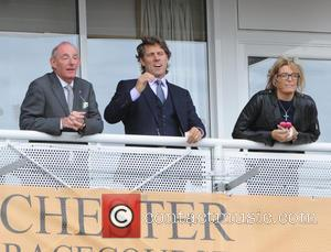 John Bishop and Melanie Bishop - The May Festival at Chester Racecourse - Liverpool, United Kingdom - Wednesday 7th May...