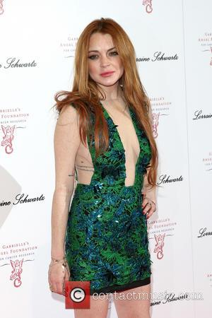 Lindsay Lohan - 3rd annual 'Gabrielle's Gala' fundraiser hosted by Gabrielle's Angel Foundation for Cancer Research UK at Old Billingsgate...