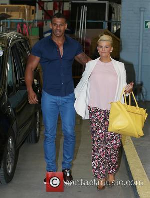 Kerry Katona and George Kay - Kerry Katona and George Kay outside the ITV studios - London, United Kingdom -...