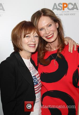 Frances Fisher and Nancy Moonves
