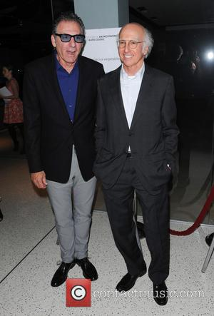 Michael Richards and Larry David