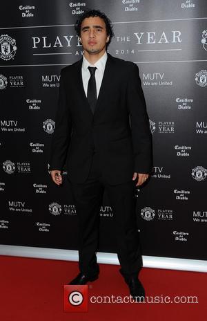 Rafael Pereira da Silva - Celebrities arrive at Manchester United Football Club, Old Trafford, Manchester Manchester United Player Of The...