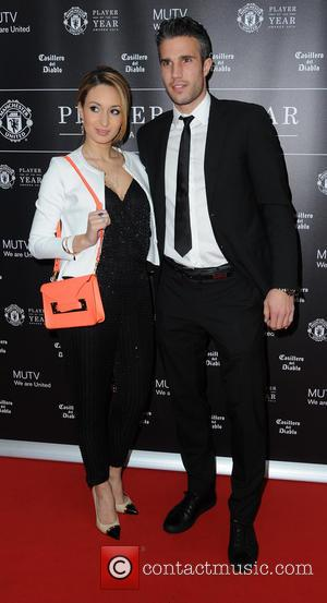 Manchester United, Robin Van Persie and Wife Bouchra