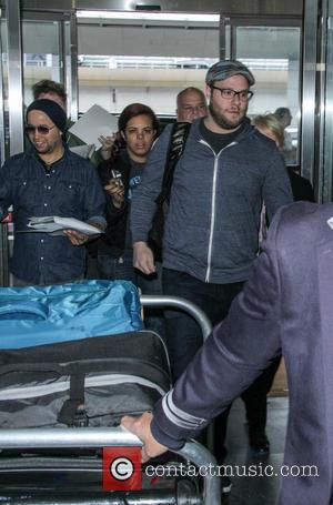 Seth Rogen - Seth Rogen at John F. Kennedy International Airport (JFK) - New York, New York, United States -...