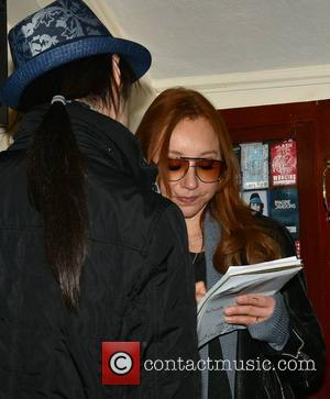 Tori Amos - American singer Tori Amos backstage at The Olympia Theatre ahead of her 2nd concert there tonight... -...