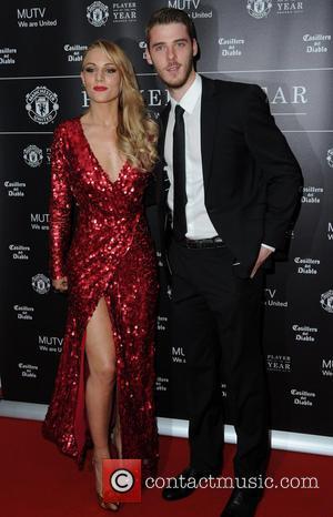 Manchester United, David De Gea and Edurne