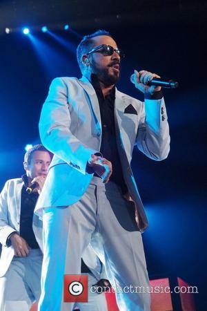 A.J. McLean - Backstreet Boys perform at FirstOntario Centre - Hamilton, Canada - Thursday 8th May 2014