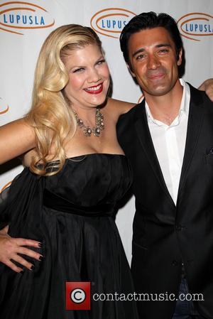 Kristen Johnston and Gilles Marini