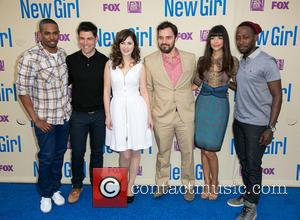 Damon Wayans, Jr., Max Greenfield, Zooey Deschanel, Jake Johnson, Hannah Simone and Lamorne Morris