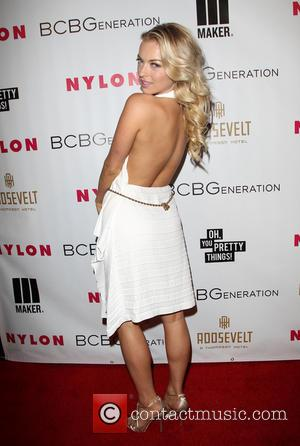 Francesca Eastwood - Nylon Magazine May Young Hollywood Issue Party - Arrivals - Los Angeles, California, United States - Friday...