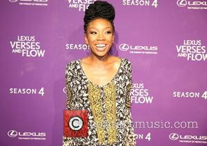 Brandy Norwood - Lexus Verses and Flow event at Siren Studios - Los Angeles, California, United States - Friday 9th...
