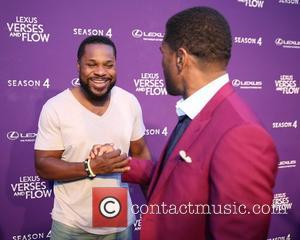 malcolm jamal warner and maxwell - Lexus Verses and Flow event at Siren Studios - Los Angeles, California, United States...