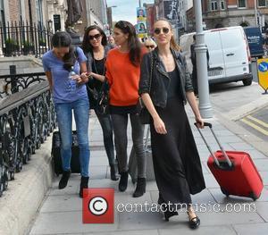 Faith Barnett, Sinead Noonan, Adrienne Murphy and Daniella Moyles