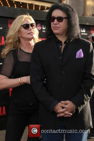 Gene Simmons and Shannon Tweed Simmons