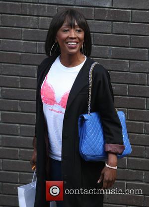 Diane Parish - Diane Parish outside ITV Studios - London, United Kingdom - Friday 9th May 2014