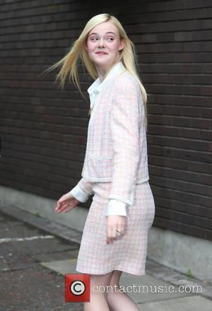 Elle Fanning - Elle Fanning outside ITV Studios - London, United Kingdom - Friday 9th May 2014