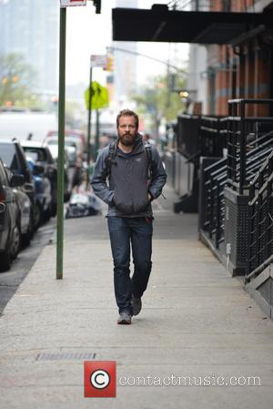 Peter Sarsgaard - Peter Sarsgaard out and about in Tribeca - New York City, New York, United States - Friday...