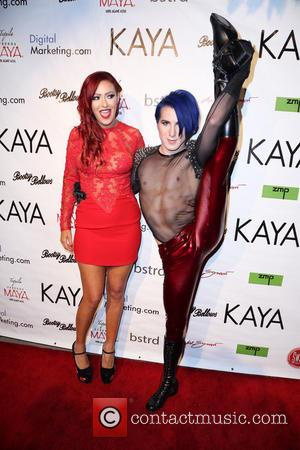 Kaya Jones - Kaya Jones, former Pussycat Doll, holds release party for her new album 'Rise of the Phoenix' at...