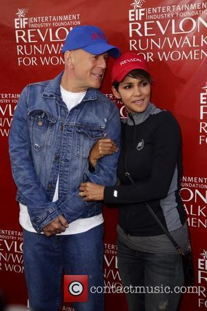 Halle Berry and Bruce Willis