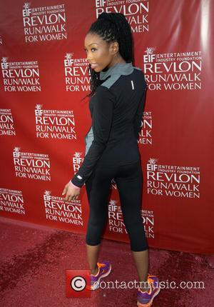 Brandy and Brandy Norwood - Celebrities attend 21st Annual EIF Revlon Run/Walk for Women  at Los Angeles Memorial Coliseum...