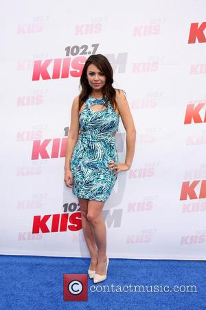 Janel Parrish - 102.7 KIIS FM's 2014 Wango Tango - Arrivals - Los Angeles, California, United States - Saturday 10th...