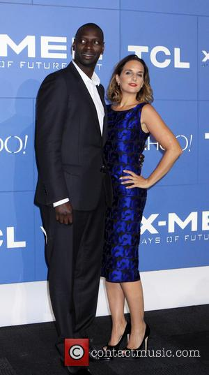 Omar Sy - 'X-Men: Days of Future Past' world premiere at the Javitz Center - Arrivals - New York, United...