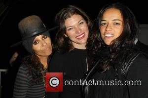 Linda Perry, Milla Jovovich and Michelle Rodriguez - The L.A. Gay & Lesbian Center's Annual