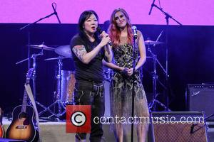 Margaret Cho and Rumer Willis