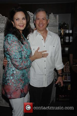 Lynda Carter and Robert Altman