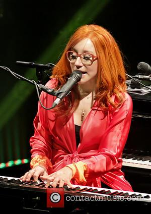 Tori Amos - Tori Amos performing live on stage at the Manchester O2 Apollo - Manchester, United Kingdom - Sunday...