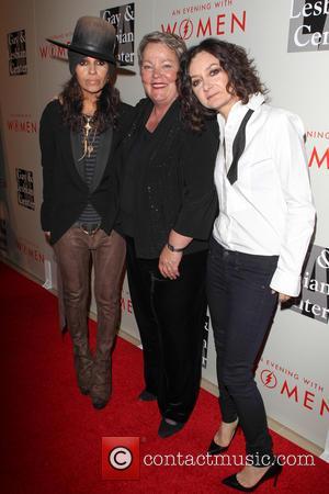 Linda Perry, Lorri Jean and Sara Gilbert - The L.A. Gay & Lesbian Center's Annual