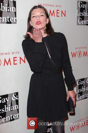 Milla Jovovich - The L.A. Gay & Lesbian Center's Annual