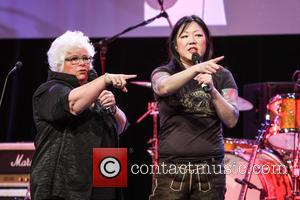 Luann Boylan and Margaret Cho