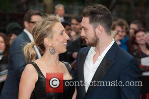 Sam Taylor Wood and Aaron Taylor-Johnson - European premiere of 'Godzilla' held at the Odeon Leicester Square - Arrivals -...