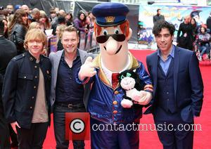 Rupert Grint, Ronan Keating and Stephen Mangan