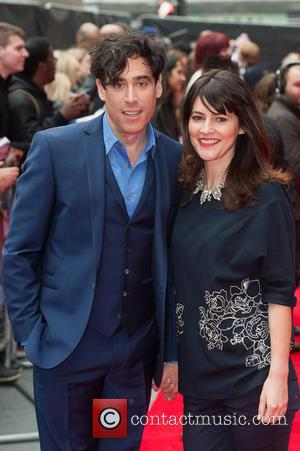 Stephen Mangan and Louise Delamere