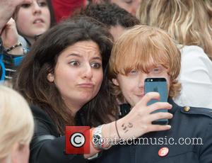 Rupert Grint - Postman Pat The Movie premiere held at the Odeon West End - Arrivals. - London, United Kingdom...