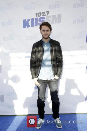 Zedd - Celebrities attend 102.7 KIIS FM's Wango Tango 2014 at the StubHub Center. - Los Angeles, California, United States...