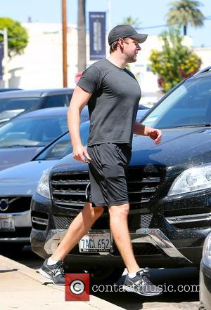 John Krasinski - John Krasinski seen leaving the Rise Movement gym. - Los Angeles, California, United States - Monday 12th...
