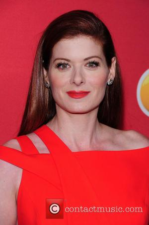 Debra Messing - 2014 NBC Upfront Presentation at The Jacob K. Javits Convention Center - Arrivals - New York City,...
