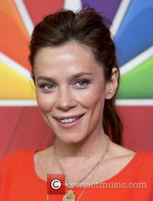 Anna Friel - 2014 NBC Upfront Presentation at The Jacob K. Javits Convention Center - Arrivals - New York, New...