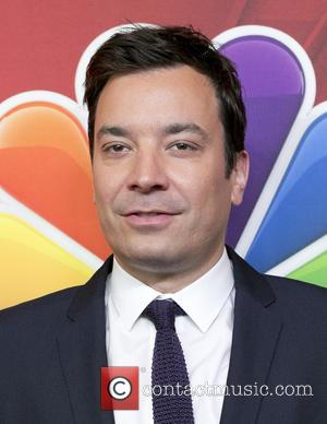 Jimmy Fallon - 2014 NBC Upfront Presentation at The Jacob K. Javits Convention Center - Arrivals - New York, New...