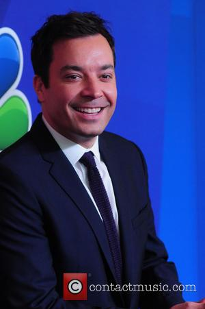 Jimmy Fallon - 2014 NBC Upfront Presentation at The Jacob K. Javits Convention Center - Arrivals - New York City,...