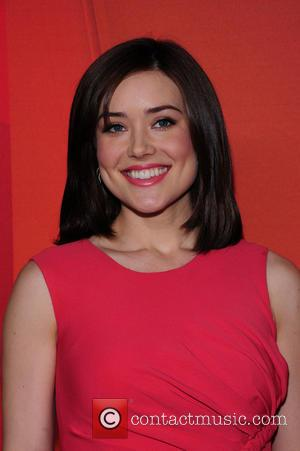 Megan Boone - 2014 NBC Upfront Presentation at The Jacob K. Javits Convention Center - Arrivals - New York City,...