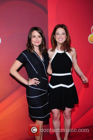 Tina Fey and Elliie Kemper