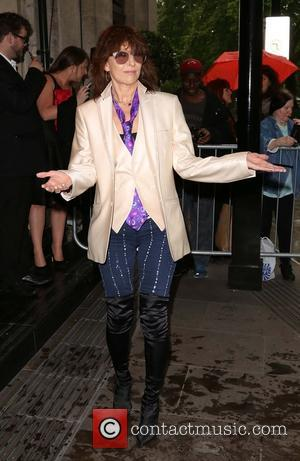 Chrissie Hynde - 2014 The Radio Academy Awards at The Grosvenor House Hotel - Arrivals - London, United Kingdom -...