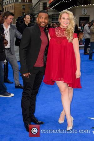 JB Gill and Chloe Tangney - 'X-Men: Days of Future Past' U.K. Premiere - Arrivals - London, United Kingdom -...