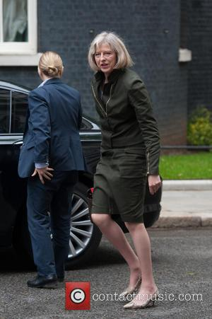 Theresa May - Politicians arrive for a Cabinet meeting at 10 Downing Street. - London, United Kingdom - Tuesday 13th...