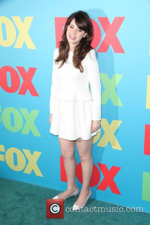 Zooey Deschanel - FOX Upfronts at The Beacon Theater - Arrivals - NYC, New York, United States - Tuesday 13th...