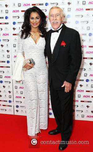 Wilnelia Merced and Bruce Forsyth - The premiere of